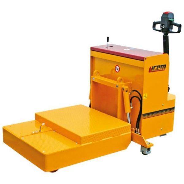 Stivuitor special TP cu stabilizatori hidraulici ICEM