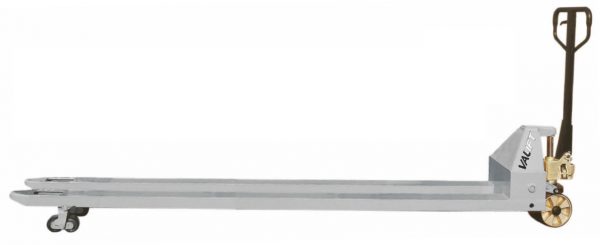 Transpaleta (liza) manuala furci lungi 2,0m VALLIFT