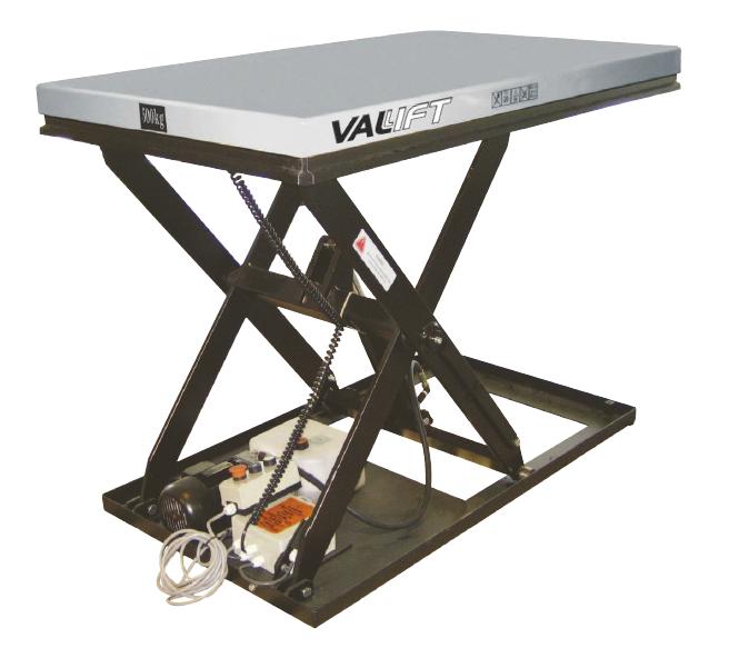 Platforma hidraulica 3000kg VALLIFT