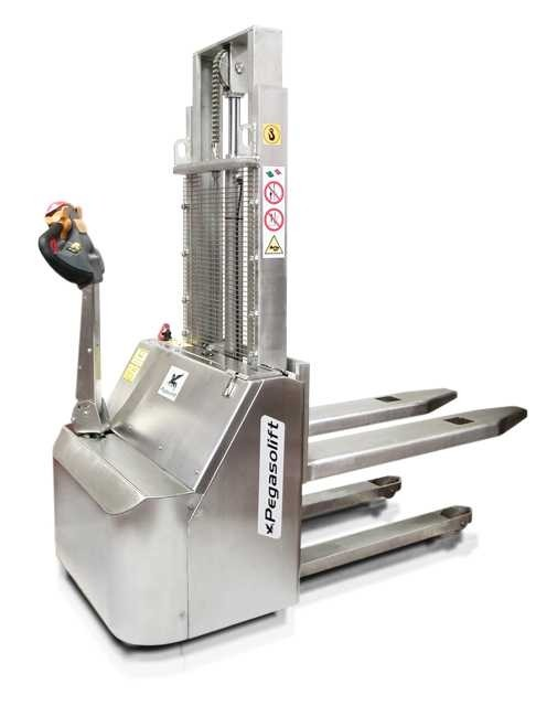 Stivuitor electric (stacker) W10 INOX Pegasolift