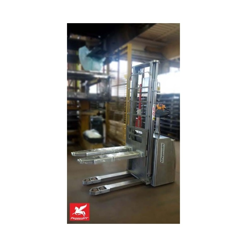 Stivuitor electric (stacker) PL16 INOX Pegasolift