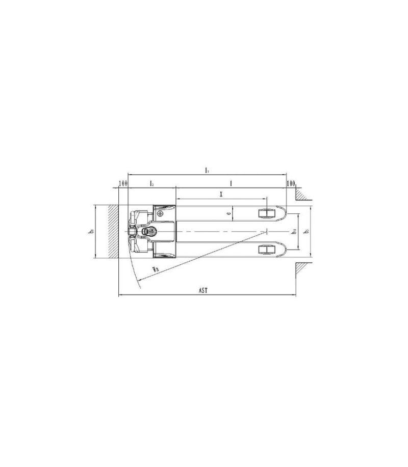 Transpaleta electrica EPT 15