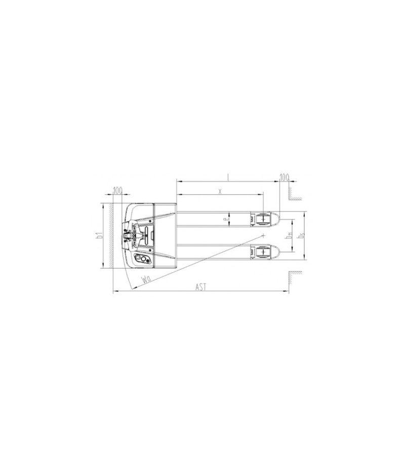 Transpaleta electrica PT 20