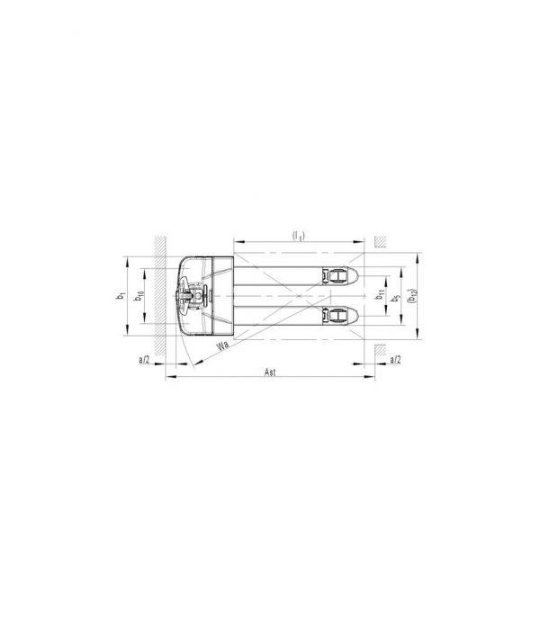 Transpaleta electrica PT 20L