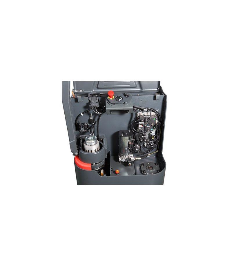 Transpaleta electrica cu catarg PS 16L